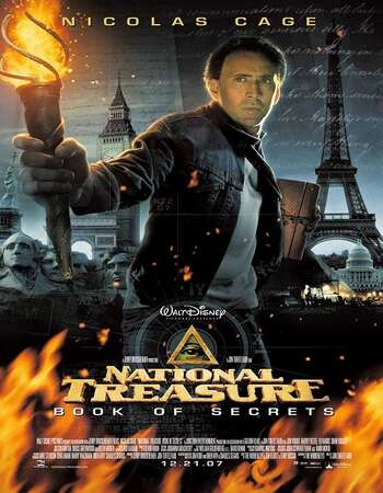 National Treasure Book of Secrets 2007 Hindi Dual Audio 720p BluRay ESubs