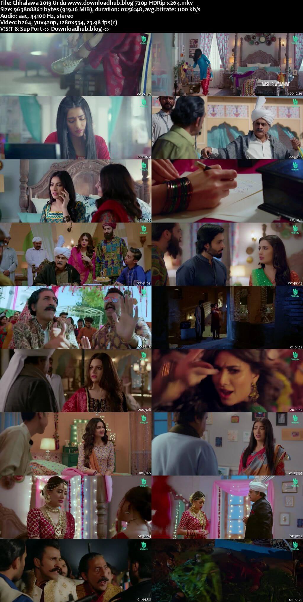 Chhalawa 2019 Urdu 720p HDRip x264