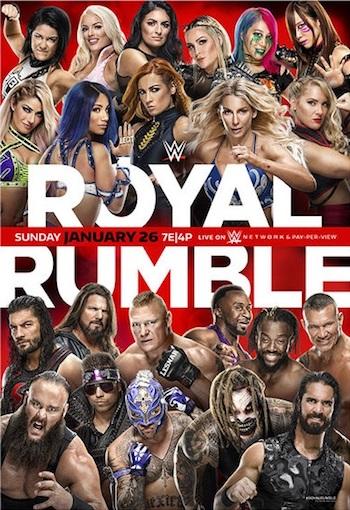 WWE Royal Rumble 2020 PPV WEBRip 720p 480p x264 999MB