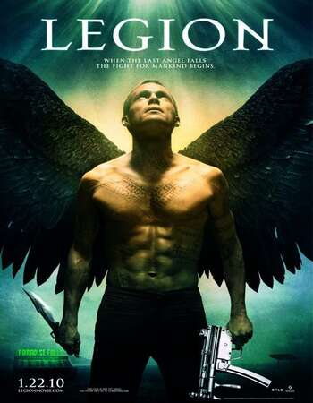 Legion 2010 Hindi Dual Audio 720p BluRay ESubs