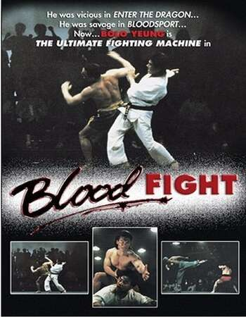 Bloodfight 1989 Hindi Dual Audio BRRip Full Movie 720p Download
