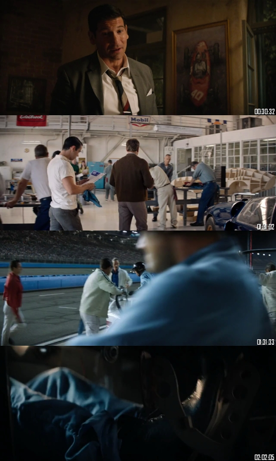 Ford V Ferrari 2019 BluRay 720p 480p Dual Audio Hindi English Full Movie Download