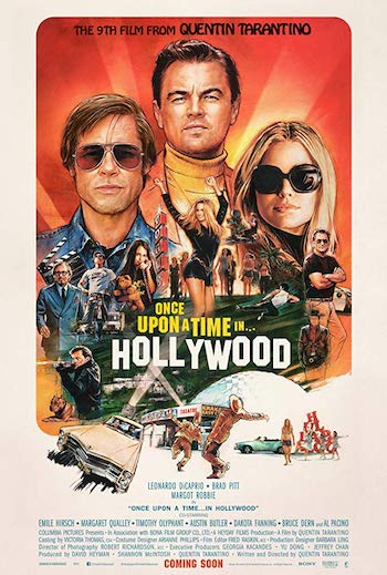 Once Upon a Time in Hollywood 2019 Dual Audio Hindi English BluRay720p 480p Movie Download