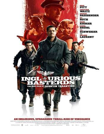 Inglourious Basterds 2009 Hindi Dual Audio BRRip Full Movie 720p Download