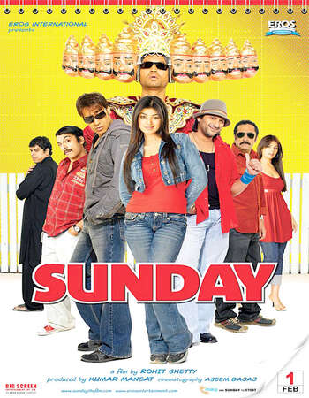 Sunday 2008 Full Hindi Movie 720p HDRip Download