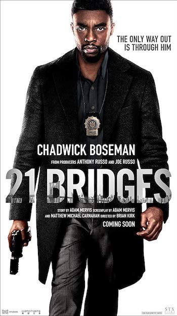 21 Bridges 2019 English 720p WEB-DL 800MB ESubs