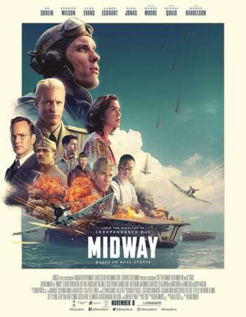 Midway 2019 Hindi Dual Audio BRRip Full Movie 720p HEVC Download