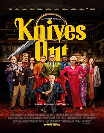 Knives Out 2019 English 720p Web-DL 1GB ESubs