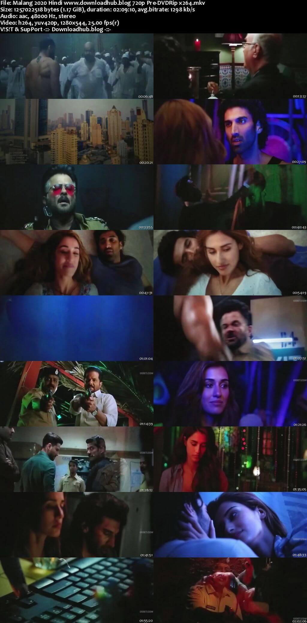 Malang 2020 Hindi 720p 480p Pre-DVDRip x264