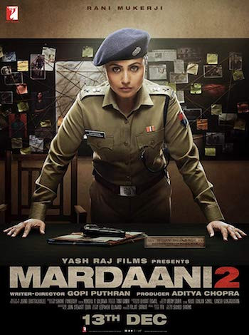 Mardaani 2 (2019) Hindi 720p WEB-DL 800mb
