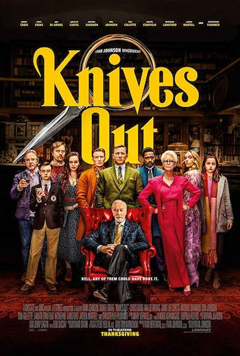 Knives Out 2019 English 720p WEB-DL 999MB ESubs