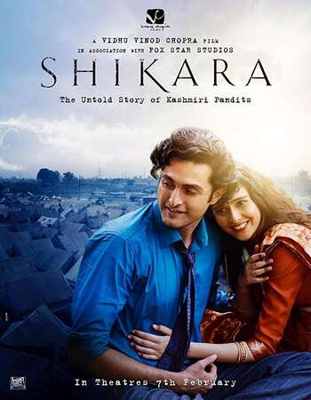 Shikara 2020 Hindi 600MB HDRip 720p ESubs HEVC