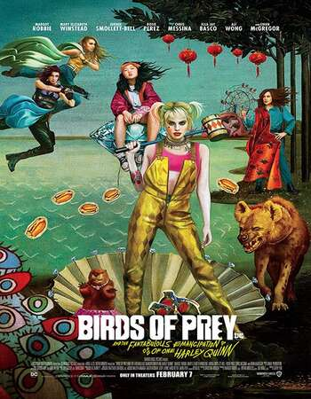 Birds of Prey 2020 Dual Audio Hindi English Web-DL 720p 480p Movie Download