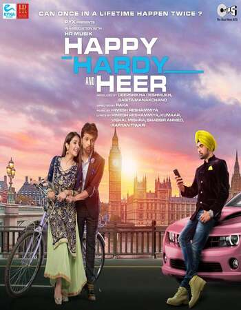 Happy Hardy And Heer 2020 Hindi 720p 480p Pre-DVDRip x264