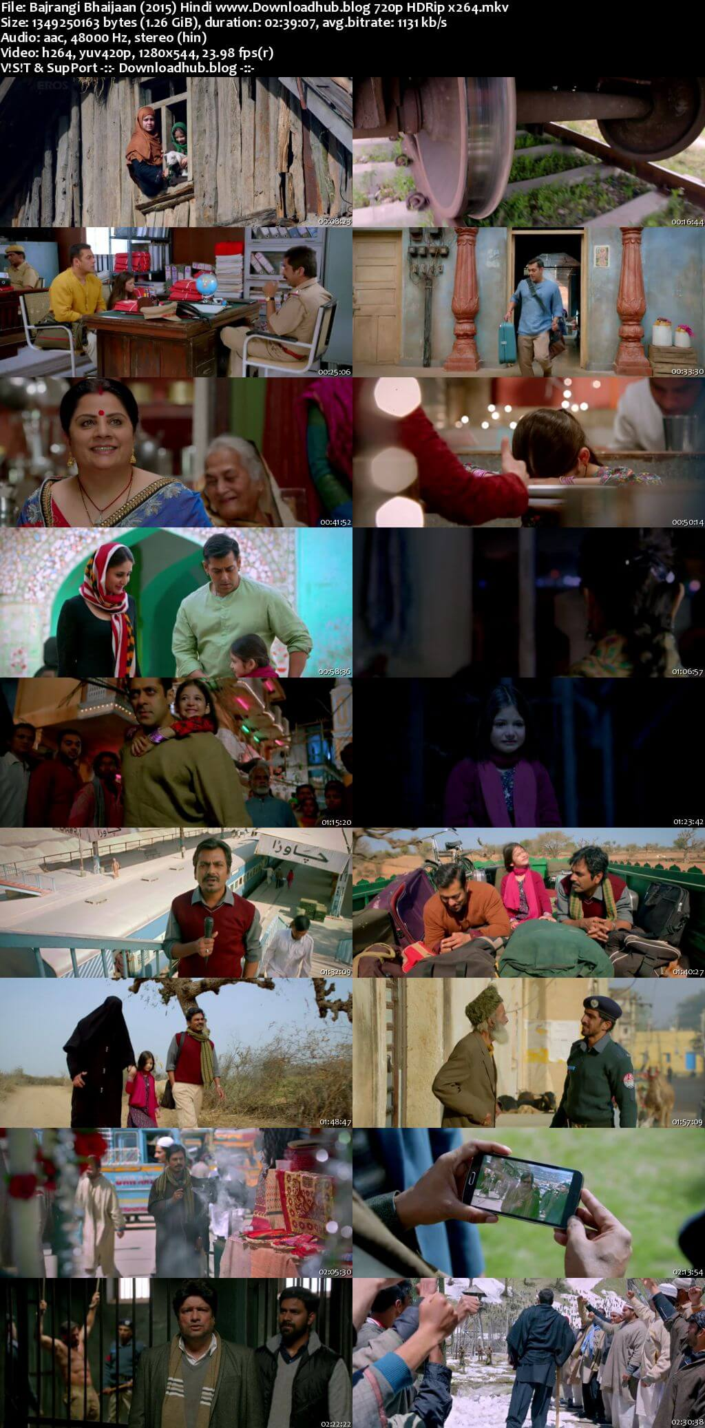 Bajrangi Bhaijaan 2015 Hindi 720p HDRip x264