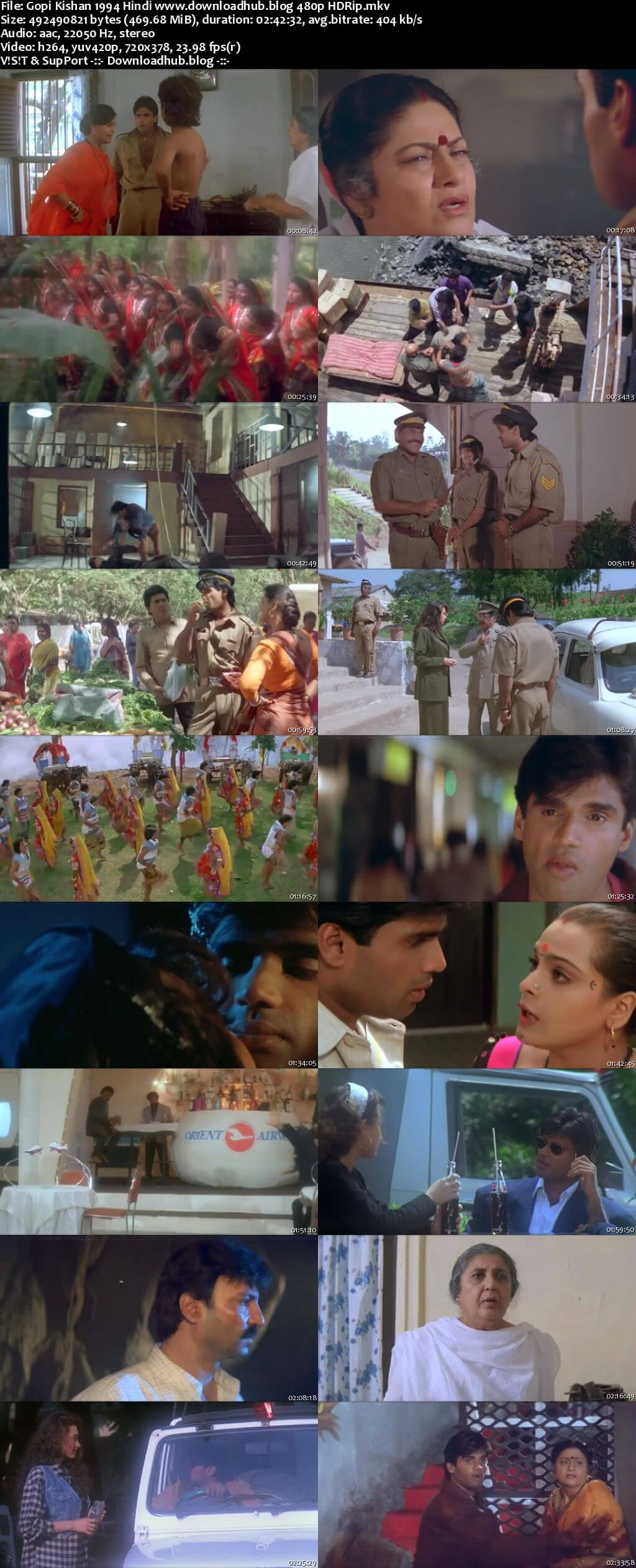 Gopi Kishan 1994 Hindi 450MB HDRip 480p