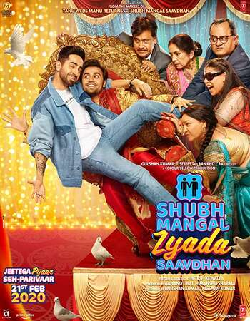 Shubh Mangal Zyada Saavdhan 2020 Hindi 1080p HDRip ESubs
