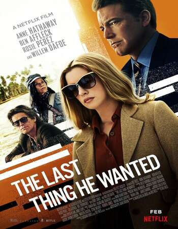The Last Thing He Wanted 2020 Hindi Dual 720p ESubs DL