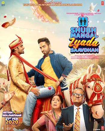 Shubh Mangal Zyada Saavdhan 2020 Movie HD 720p