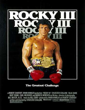 Rocky III 1982 Hindi Dual Audio 720p BluRay ESubs