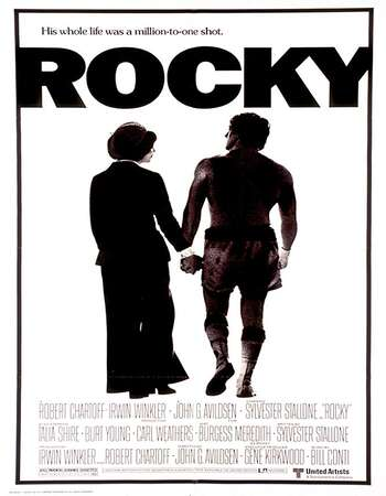 Rocky 1976 Hindi Dual Audio 720p BluRay ESubs