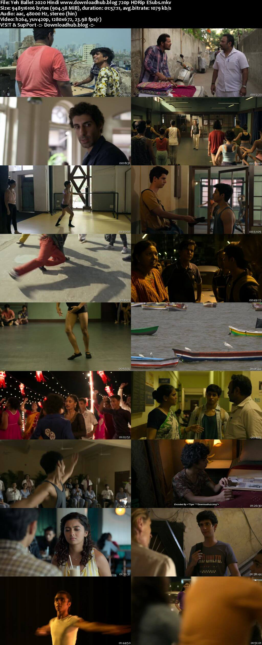 Yeh Ballet 2020 Hindi 720p HDRip ESubs