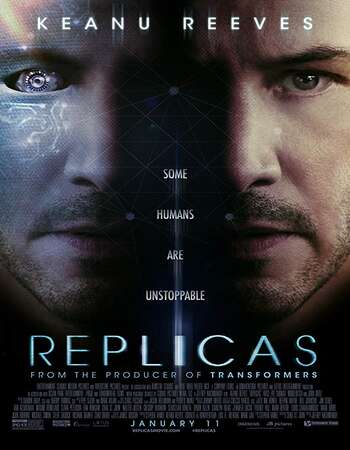 Replicas 2018 Hindi Dual Audio 550MB BluRay 720p ESubs HEVC