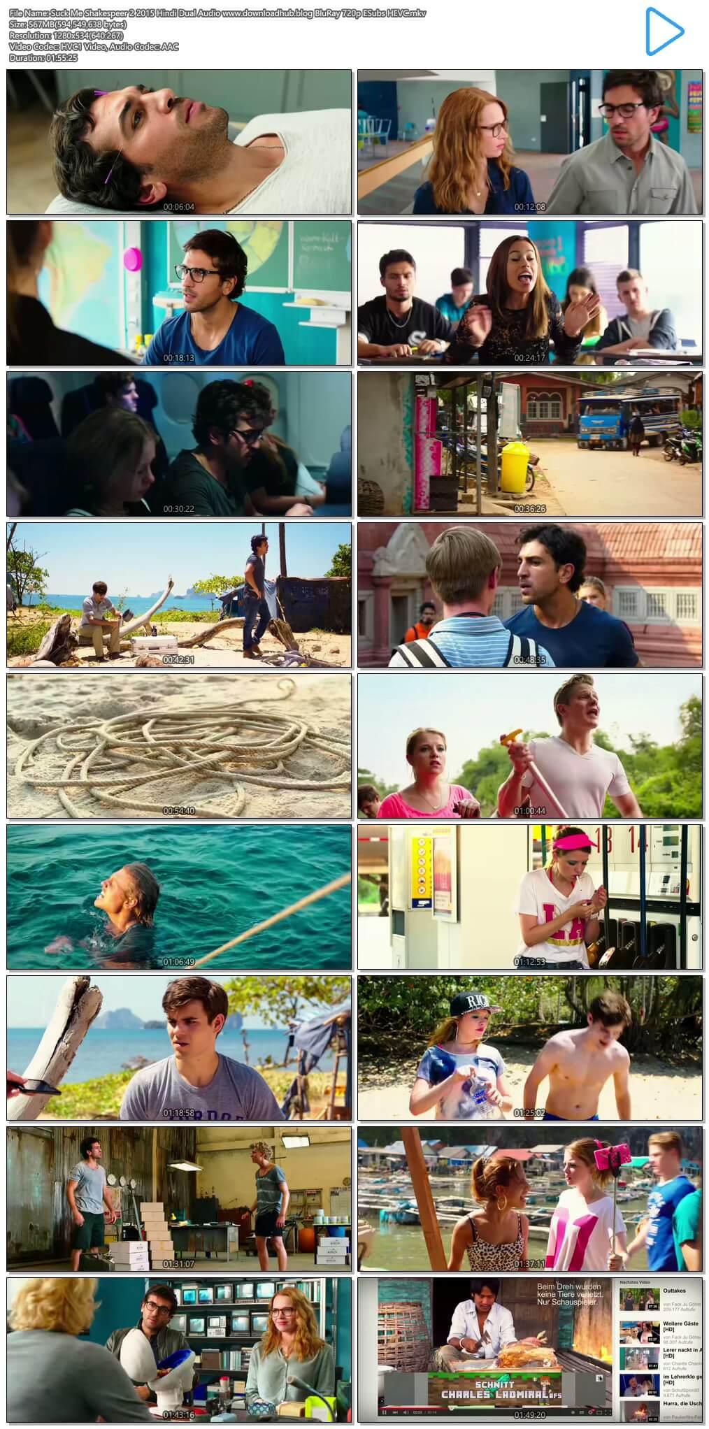 Suck Me Shakespeer 2 2015 Hindi Dual Audio 550MB BluRay 720p ESubs HEVC