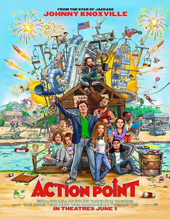 Action Point 2018 Hindi Dual Audio 250MB BluRay 480p ESubs
