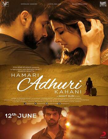Hamari Adhuri Kahani 2015 Hindi 650MB BluRay 720p ESubs HEVC