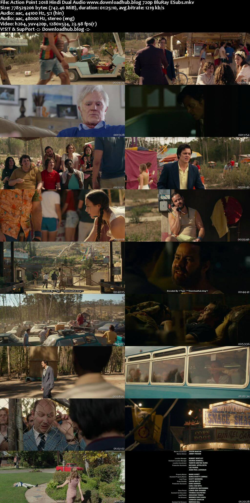 Action Point 2018 Hindi Dual Audio 720p BluRay ESubs