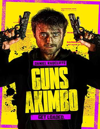 Guns Akimbo 2019 Hindi Dual Audio BRRip Full Movie 720p HEVC Download