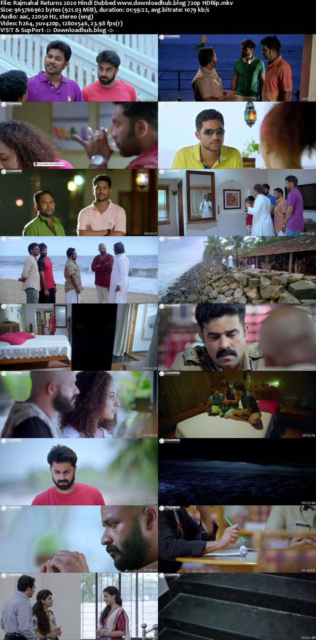 Rajmahal Returns 2020 Hindi Dubbed 720p HDRip x264