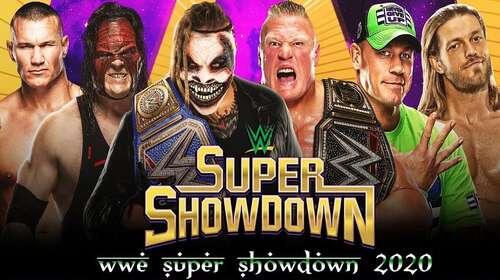 WWE Super Showdown 27th February 2020 720p 850MB PPV WEBRip 480p