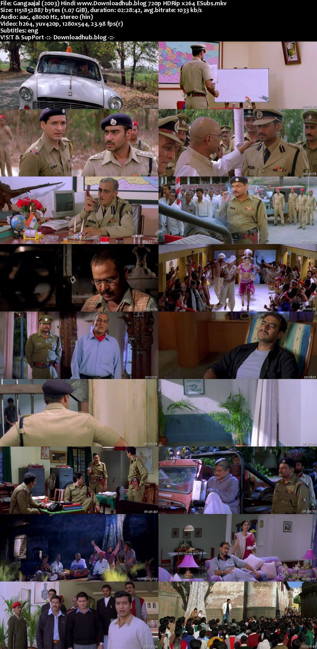Gangaajal 2003 Hindi 720p HDRip ESubs