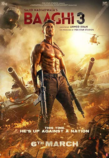 Baaghi 3 (2020) Hindi 720p 480p pDVDRip