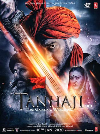 Tanhaji The Unsung Warrior 2020 Hindi Movie Download