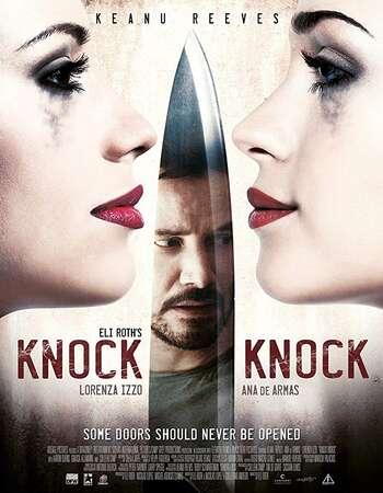 Knock Knock 2015 Hindi Dual Audio BRRip Full Movie 720p HEVC Download
