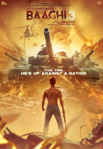 Baaghi 3 2020 720p 480p Hd Full Hindi Movie Download