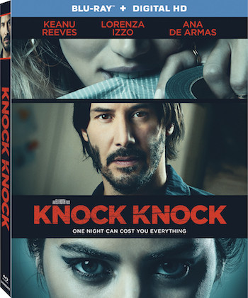 Knock Knock 2015 Dual Audio Hindi Bluray Movie Download