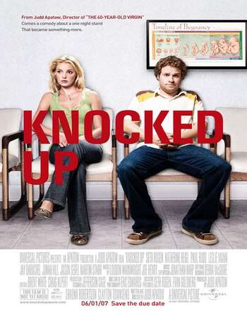 Knocked Up 2007 Hindi Dual Audio BRRip Full Movie 720p Download