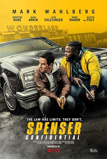 Spenser Confidential 2020 English 720p NF Web-DL 850MB MSubs