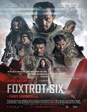 Foxtrot Six 2019 English 720p Web-DL 999MB ESubs