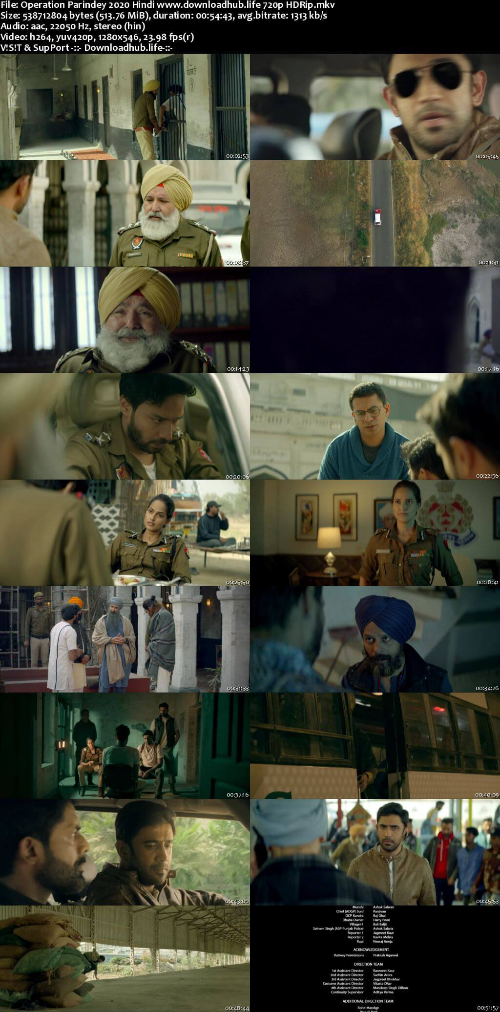 Operation Parindey 2020 Hindi 720p HDRip x264