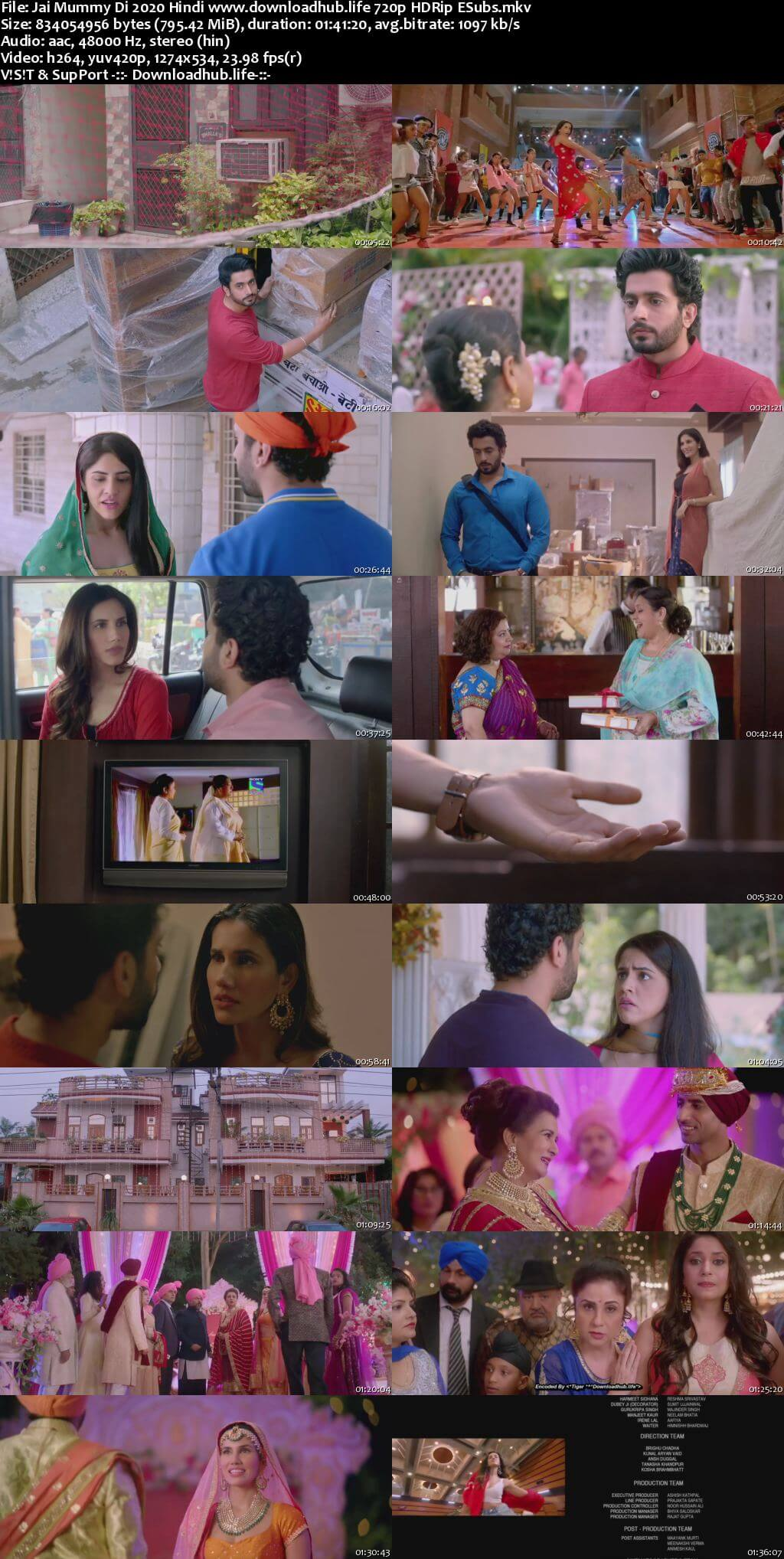 Jai Mummy Di 2020 Hindi 720p HDRip ESubs