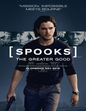 Spooks The Greater Good 2015 Hindi Dual Audio BRRip Full Movie 720p HEVC Download