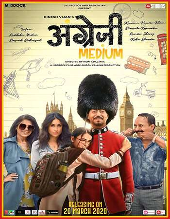 Angrezi Medium 2020 Hindi 720p 480p Pre-DVDRip x264