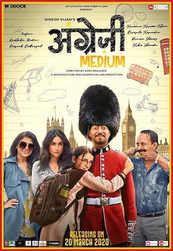 Angrezi Medium 2020 Hindi 480p WEB-DL 400MB