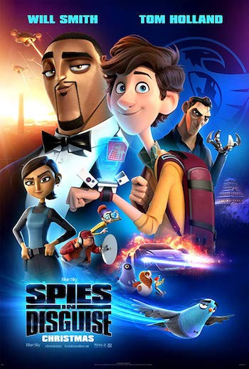 Spies In Disguise 2019 Dual Audio Hindi 720p WEB-DL 850mb