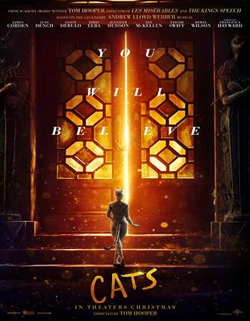 Cats 2019 English 720p Web-DL 900MB ESubs